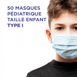 Masques Type 1 : Taille enfant